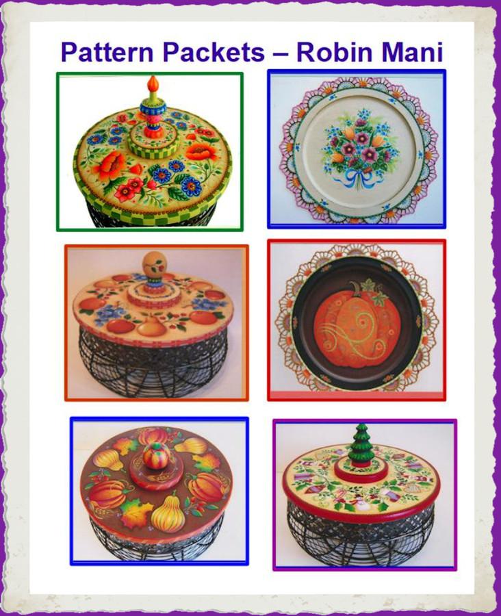 Pattern Packets - Robin Mani (1813320, 1813001, 1813002, 1813003, 1813263, 1813276, 1813283)