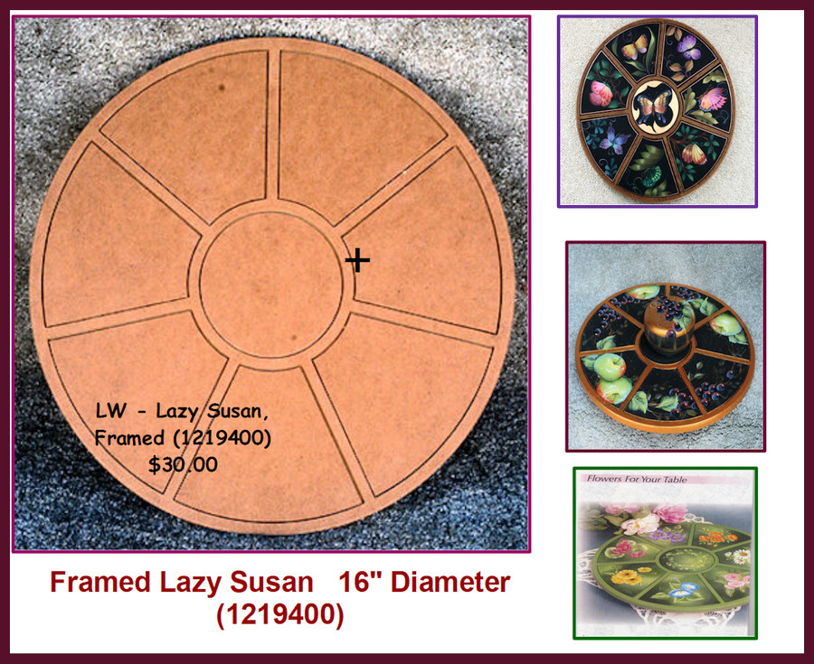 LW - Lazy Susan, Framed (1219400)