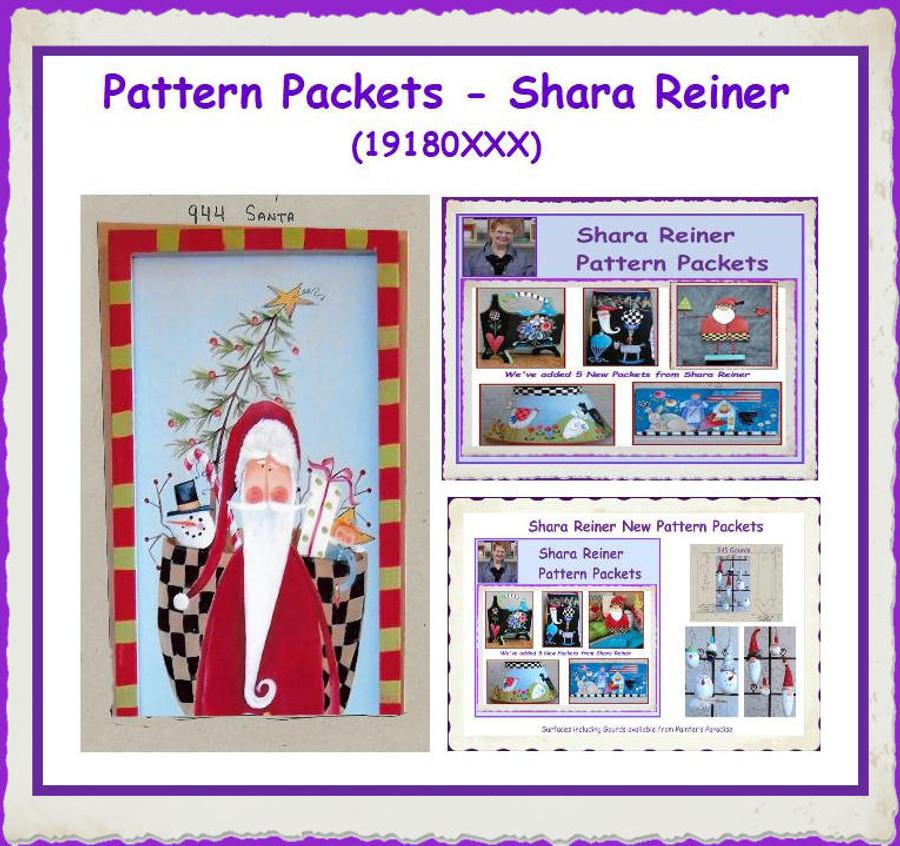 Pattern Packets - Shara Reiner (19180XXX)  List Price $9.00