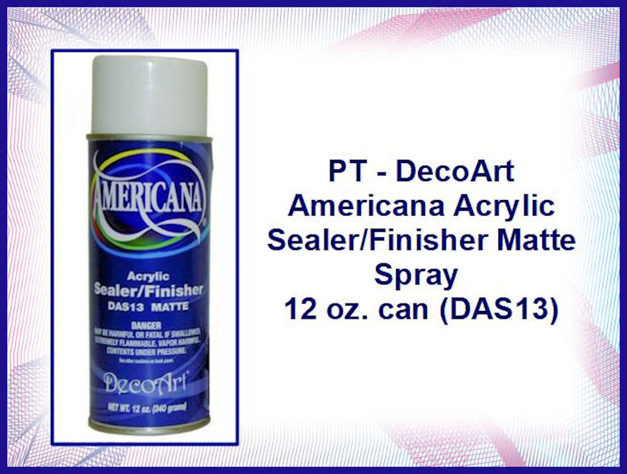 PT - Deco Art Americana Acrylic Sealer/Finisher Matte Spray 12 oz. can (DAS13)