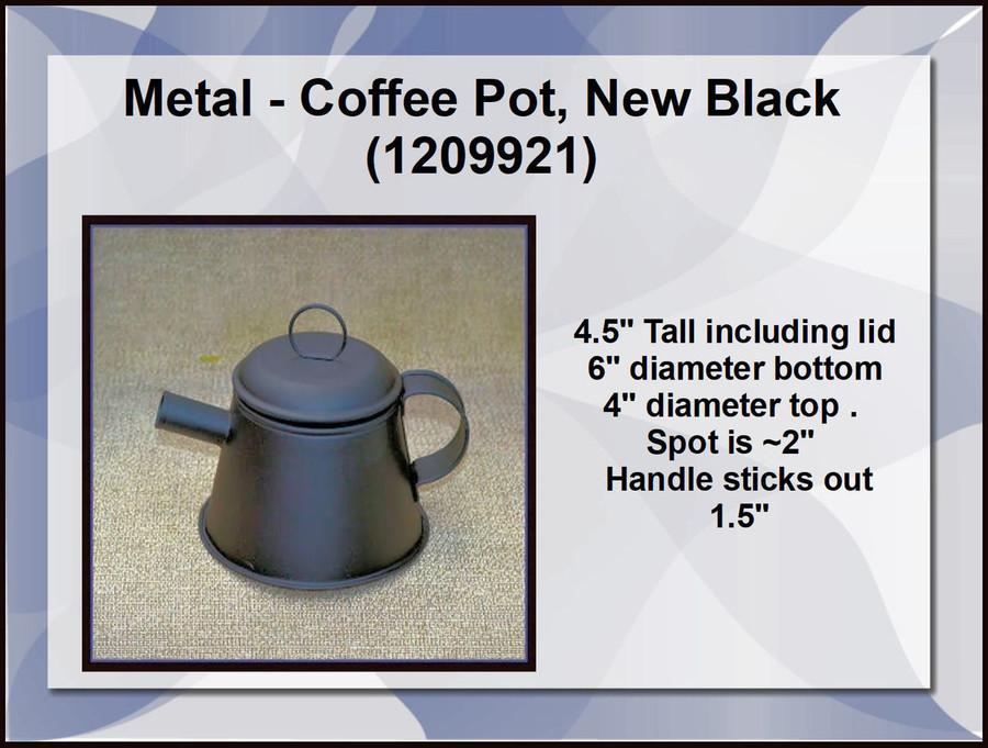Metal - Coffee Pot, New Black (1209921)