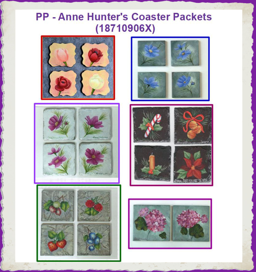 Pattern Packets - Anne Hunter's  Coaster Packets (18710906X)
