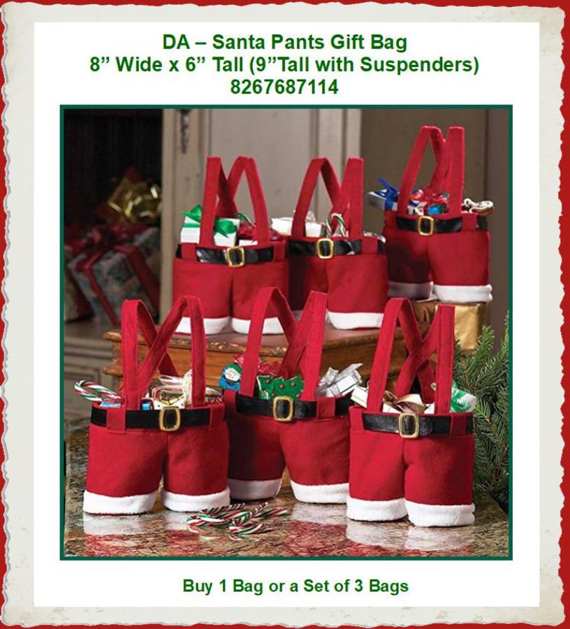 DA - Santa Gift Britches (8267687114) List Price $6.50