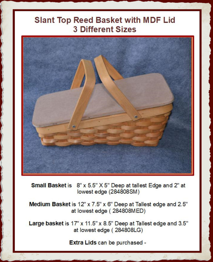 The Large Basket has been Discontinued