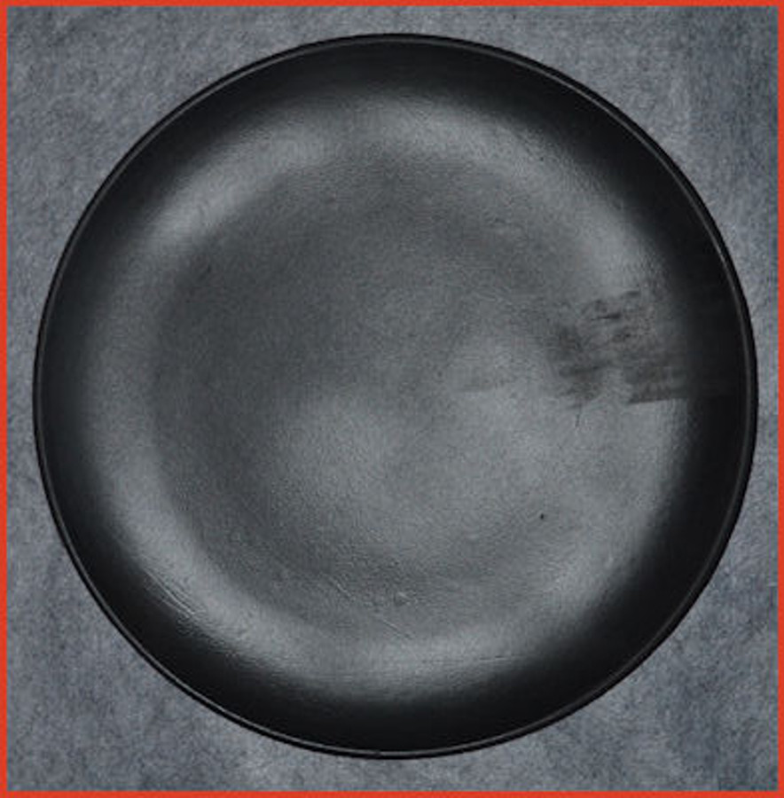 "Plate - Hi Density Resin Round 15.5"" Plate (HDR12345) List Price $15.00"