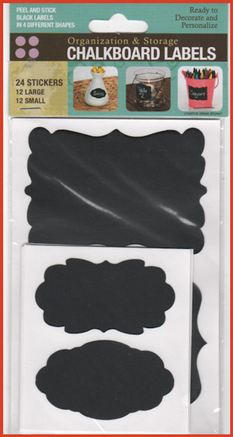 DA - Chalkboard Labels (8900251)