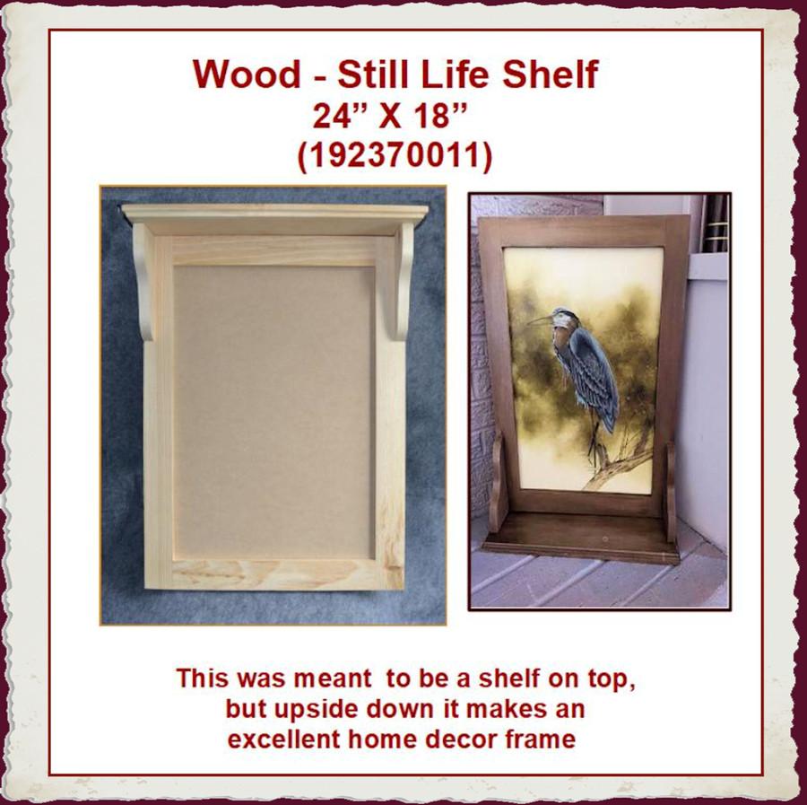 "Wood - Still Life Shelf ~24"" x 18""(192370011) List Price $26.00"