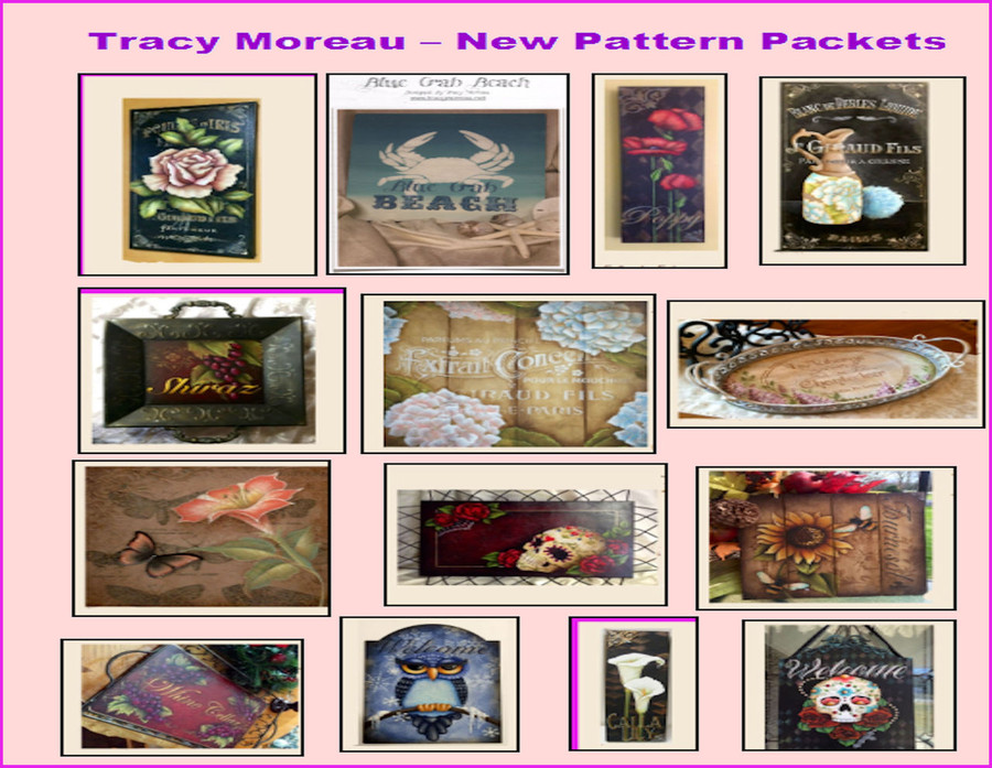 14 Tracy Moreau Pattern Packets added 8/1/2016 - Save on Shipping. Special Price of $11.00