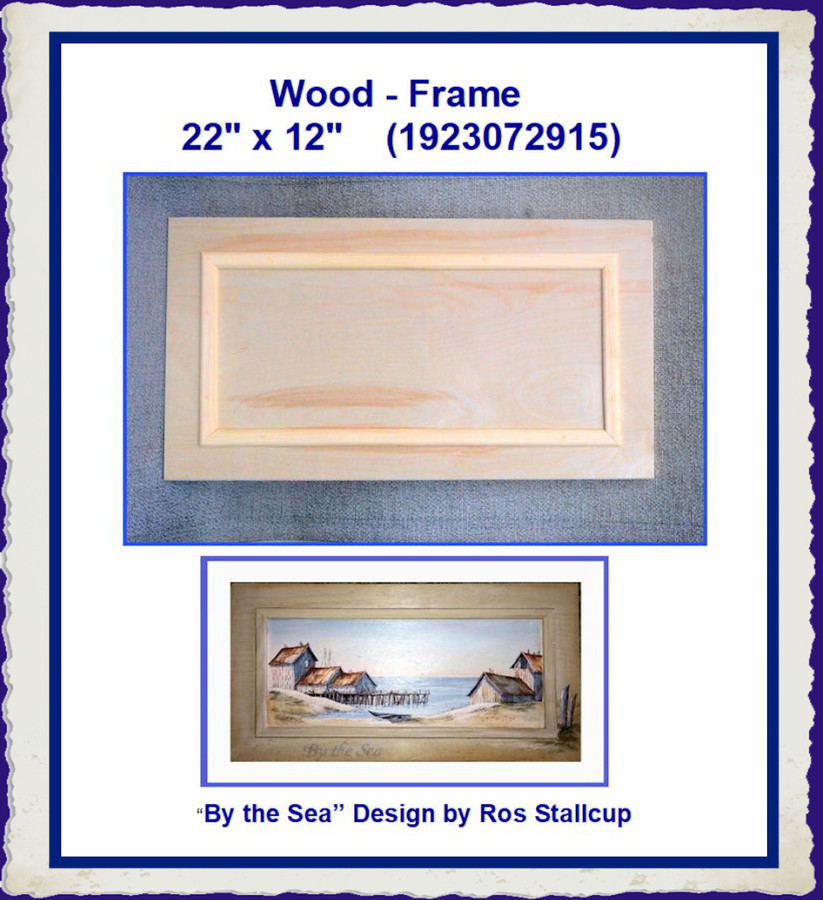 "Wood - Frame  22""  x 12"" (1923072915) List Price $18.00"