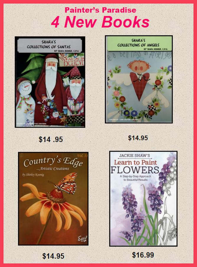 4 New Books by Shara Reiner, Shirley Koenig and Jackie Shaw