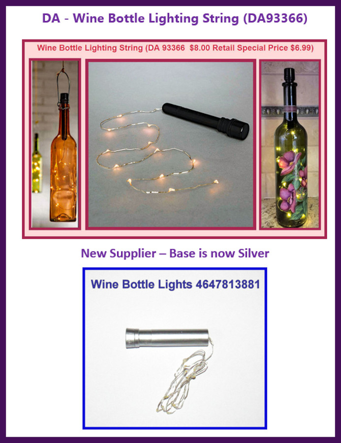 DA - Wine Bottle Lighting String  (DA93366)