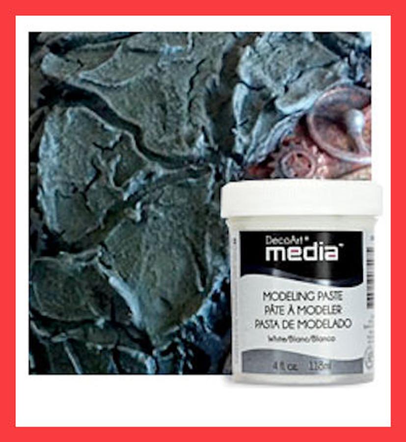 DecoArt Clear Modeling Paste - 4oz. (DMM30)