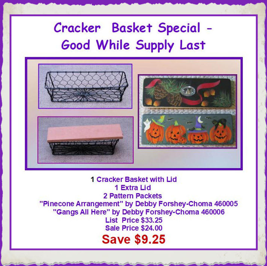 Basket - Cracker Basket Special (CBSPECIAL)List Price $33.25
