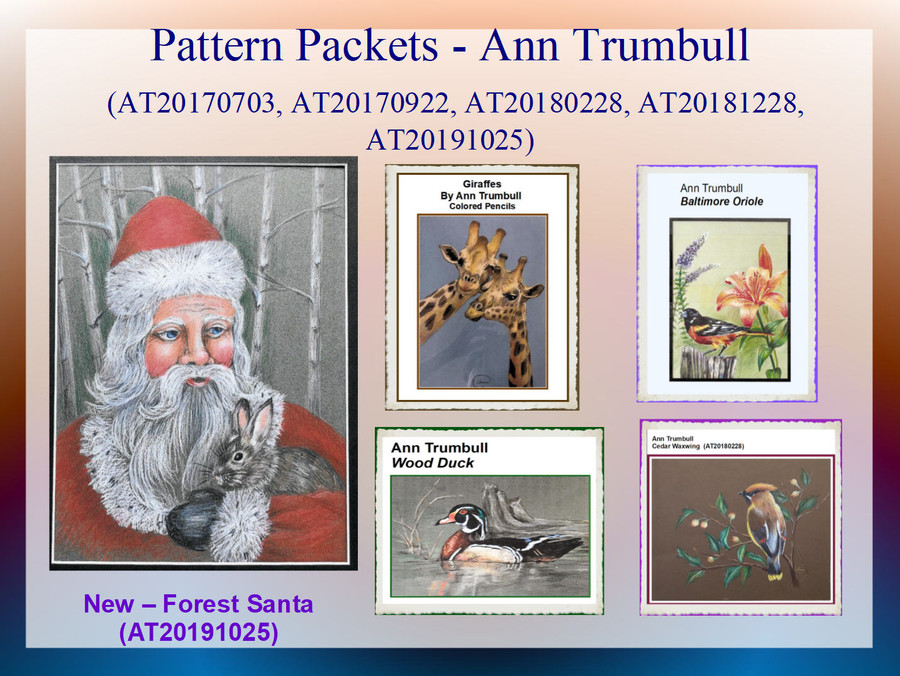 Pattern Packets - Ann Trumbull (AT200191025, AT20170703, AT20170922, AT20180228, AT20181228)