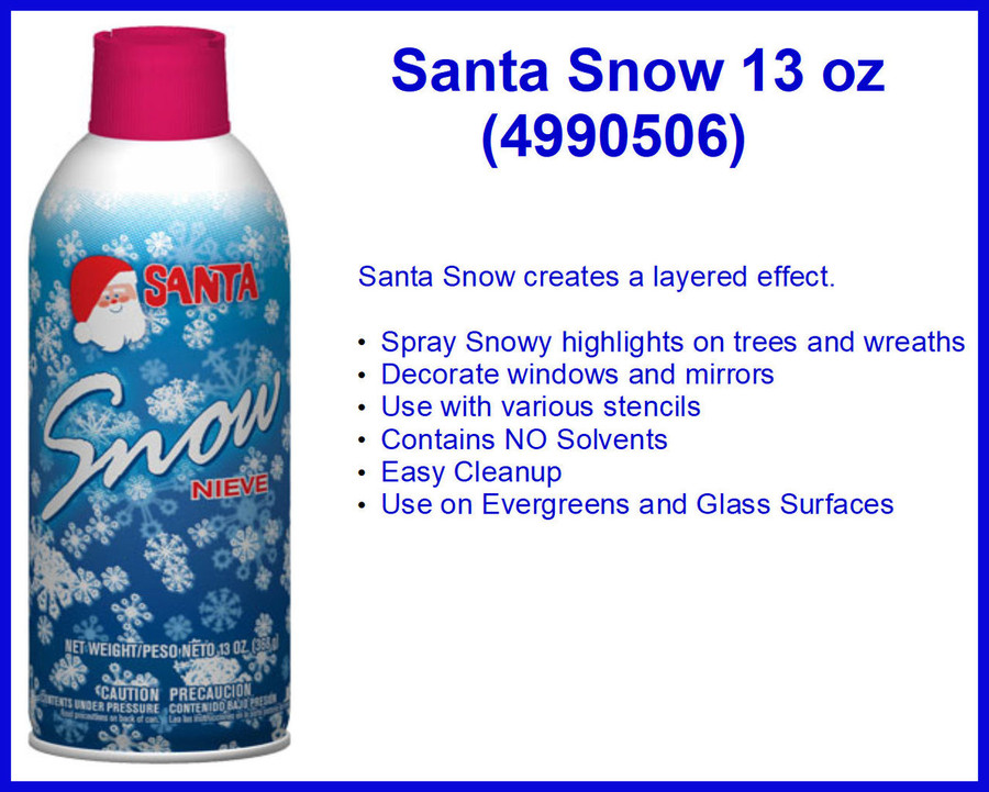 DA - Santa® Snow 13oz  (4990506) List Price $8.50