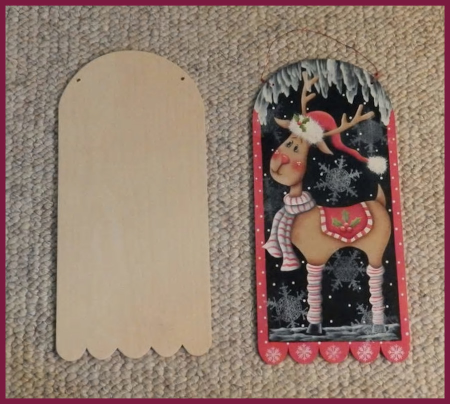 "Wood - Banner 15"" x 7"" (120201801) List Price $6.50"