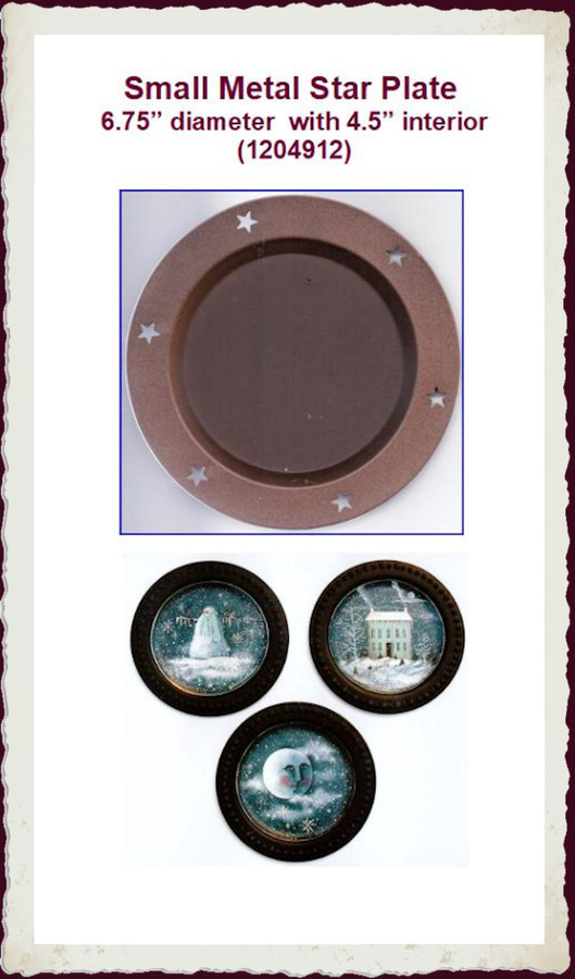"""Plate - Star Plate Small 6.25"""" (1204912) List Price $5.50"""
