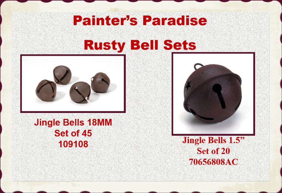 """Bells - Rusty Bell Packages 1.5"""" or 18mm (109108, 70656808AC)"""