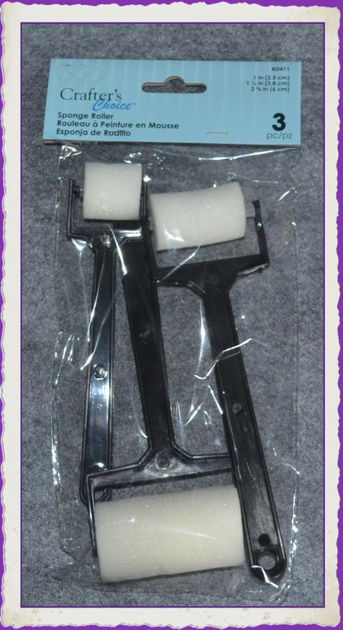 PT – Foam Roller Brushes Set of 3 (PT 20180629-3) List Price $12.00