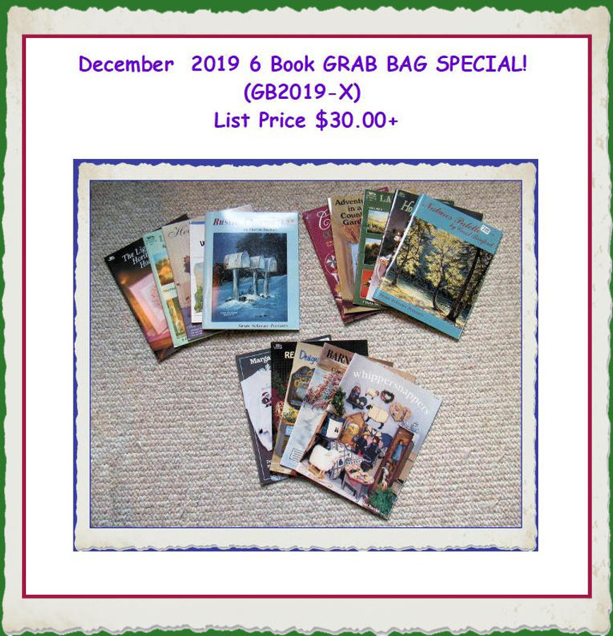 BOOKS - 6 Book GRAB BAG SPECIAL! (GB2019-X) List Price $25.00+