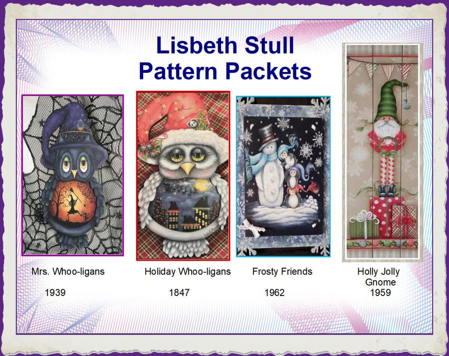 PP - Lisbeth Stull Pattern Packets List Price $ 9.00