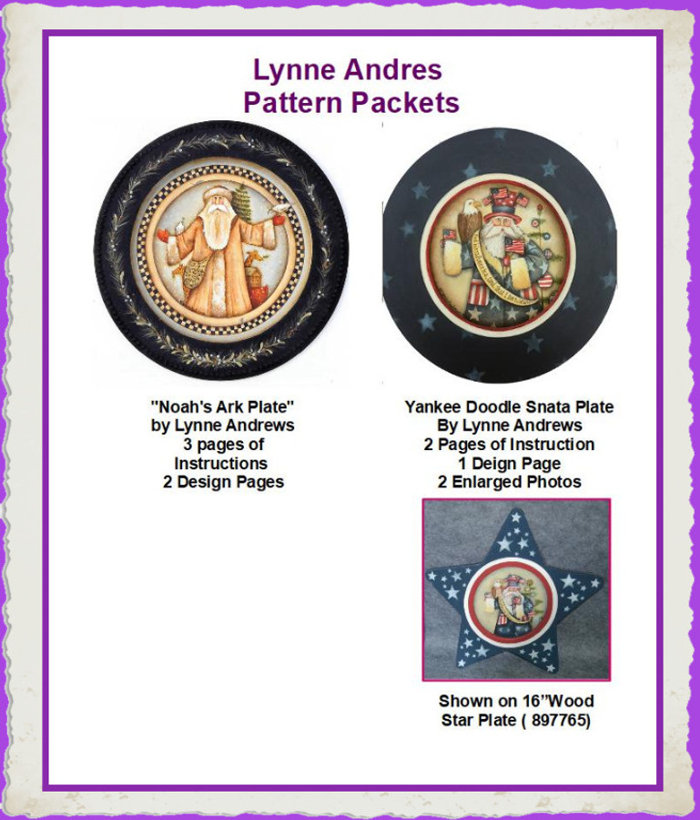 PP - Pattern Packets by Lynne Andrews (121200703) List Price $9.00