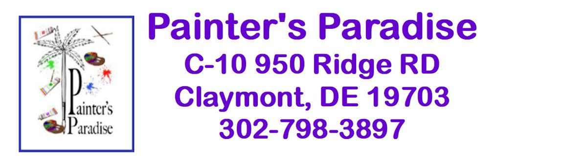 Painter's Paradise C-10 950 Ridge RD Claymont DE 19703 302-798-3897