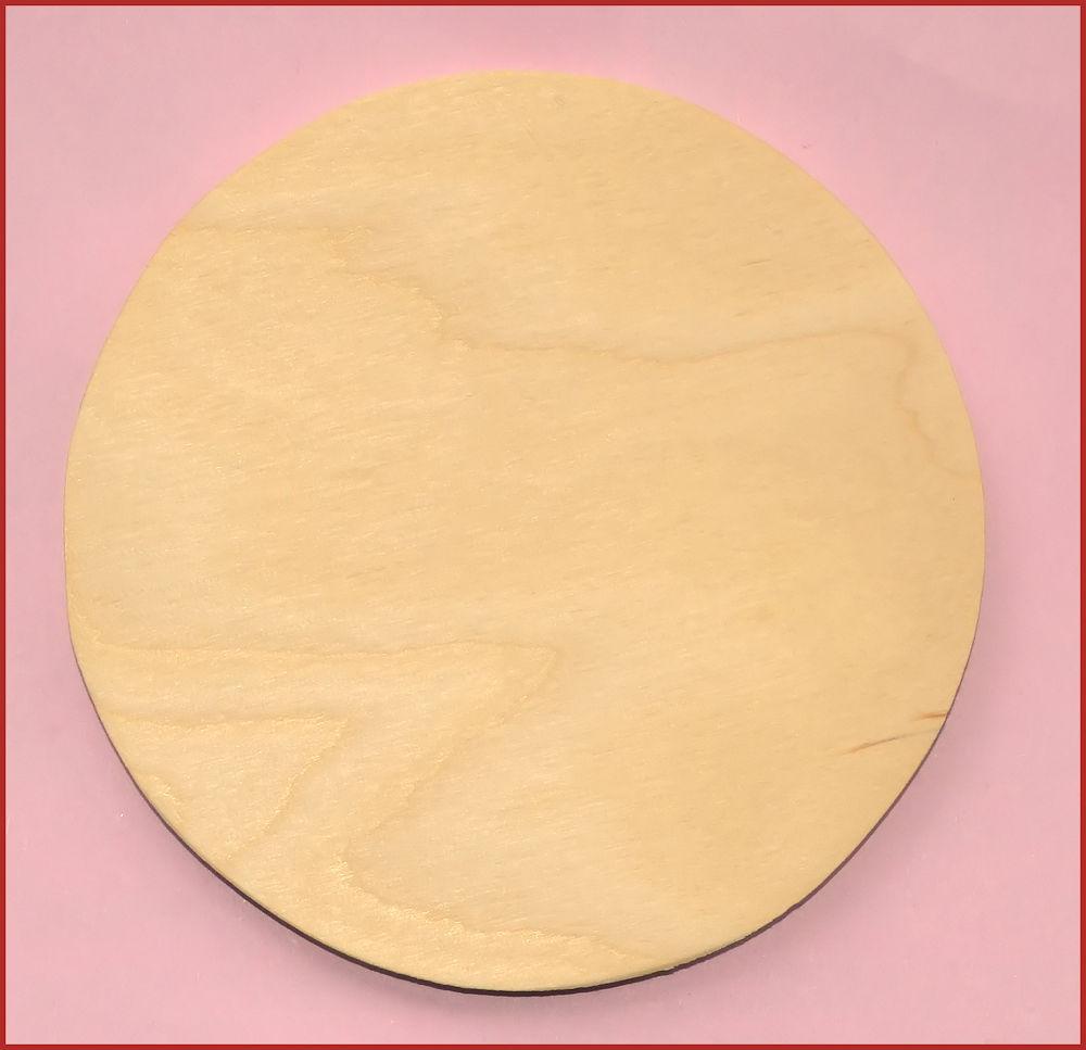 Wood Ornament Round 4 Diameter 0119201612 List Price 135