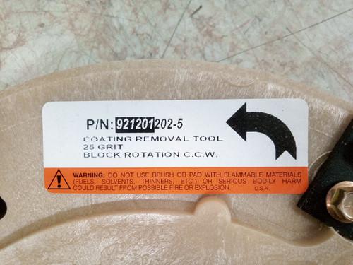 "921201202 12/"" Mastic Concrete Coating Removal Tool 25 Grit. Diamabrush"