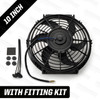 "10"" Powermax Electric Radiator Cooling Fan 120W 12 Volt"