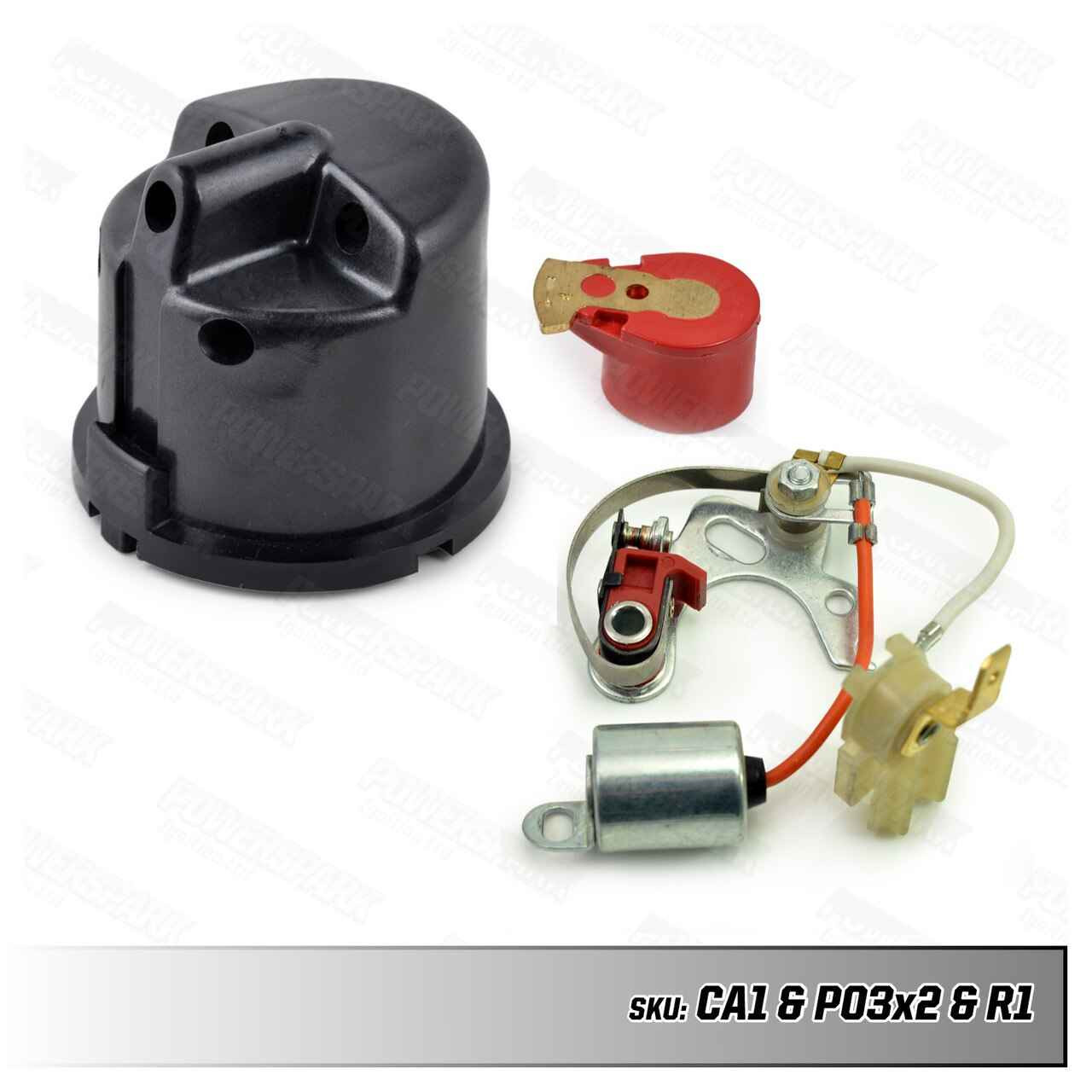Lucas Lucas 25D Distributor Upgrade Kit with 2 sets of points