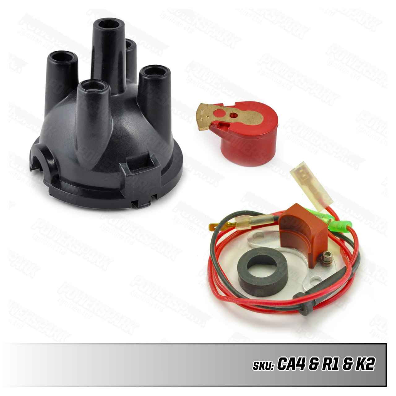 Lucas Lucas 23D and 25D Electronic Ignition Distributor Upgrade Kit