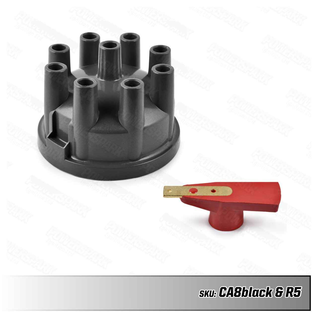 Lucas Lucas 35D V8 Distributor Cap and Rotor Arm Upgrade Kit