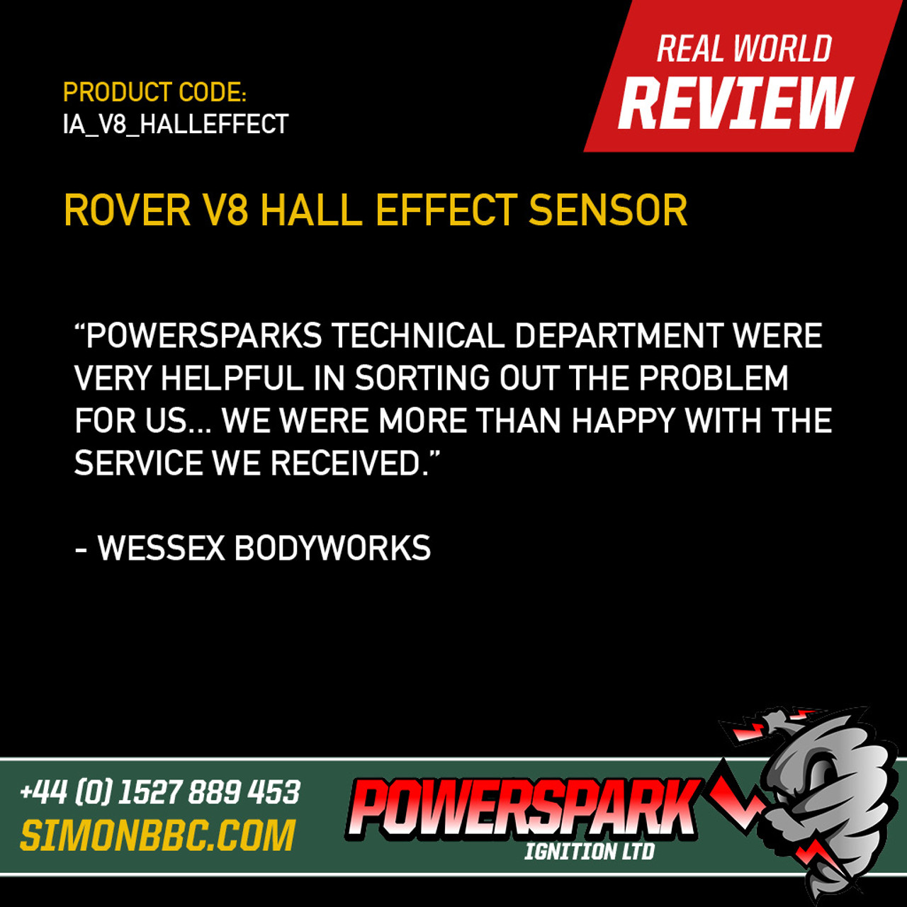 Replacement Rover V8 Hall Effect Sensor