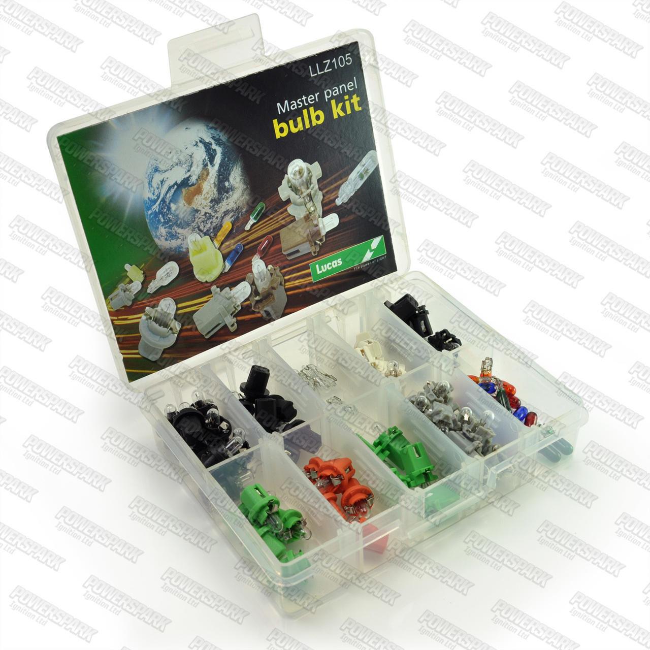 Lucas Genuine Lucas Master Instrument Panel Bulb Kit 12v