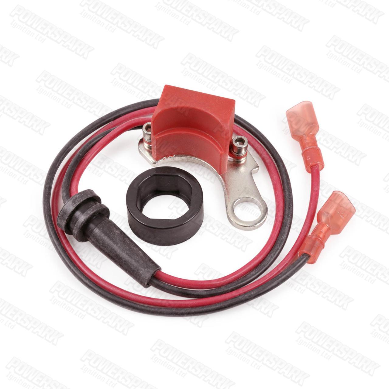 Powerspark Powerspark Electronic Ignition Kit for Bosch 4 Cyl RH 2PC Distributor K14