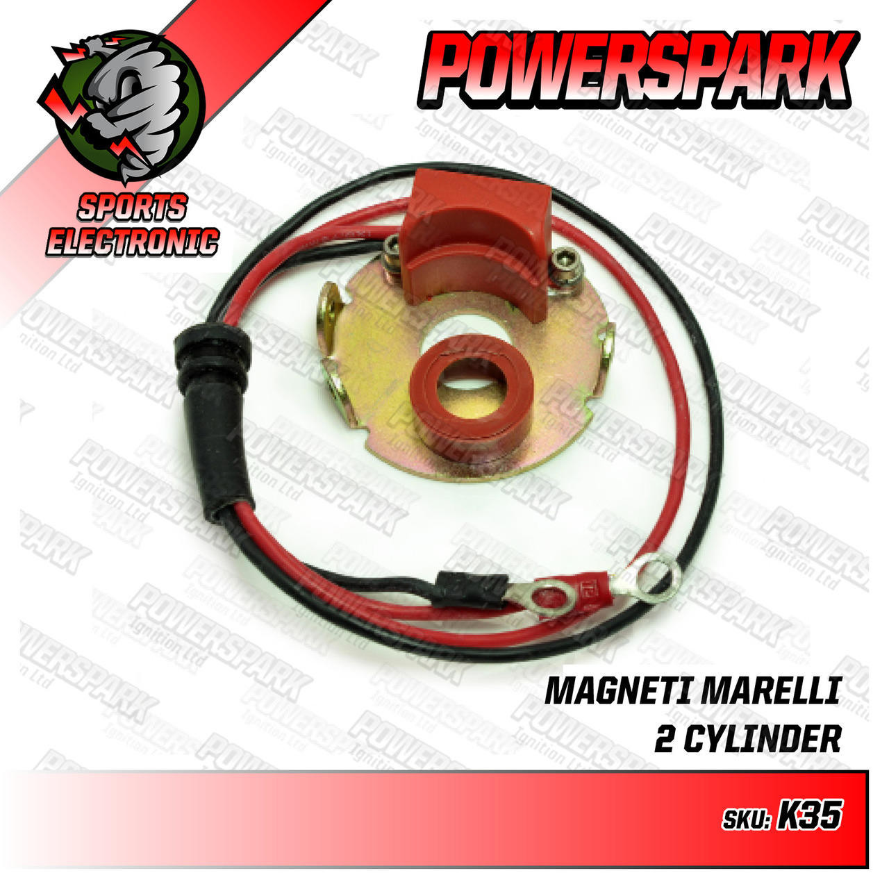 Powerspark Powerspark Electronic Ignition Kit for Marelli Distributor K35