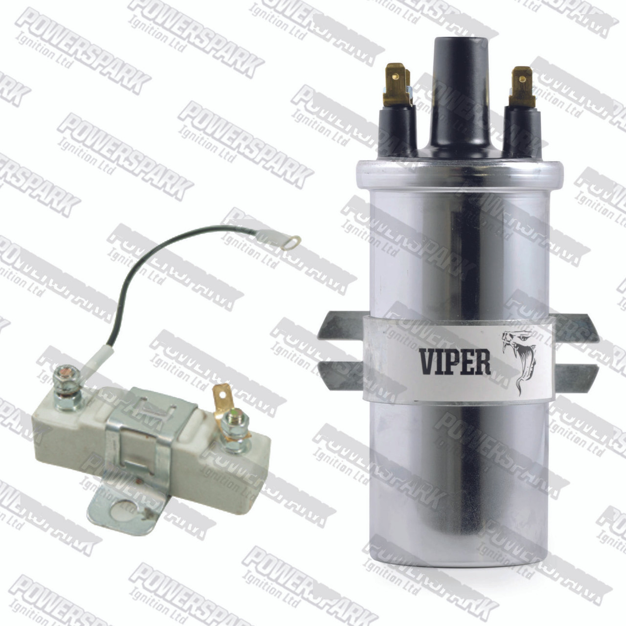 Viper Dry Ignition Coil Sports Ballast replaces DLB110 DLB102 (VC110 & 08-001)