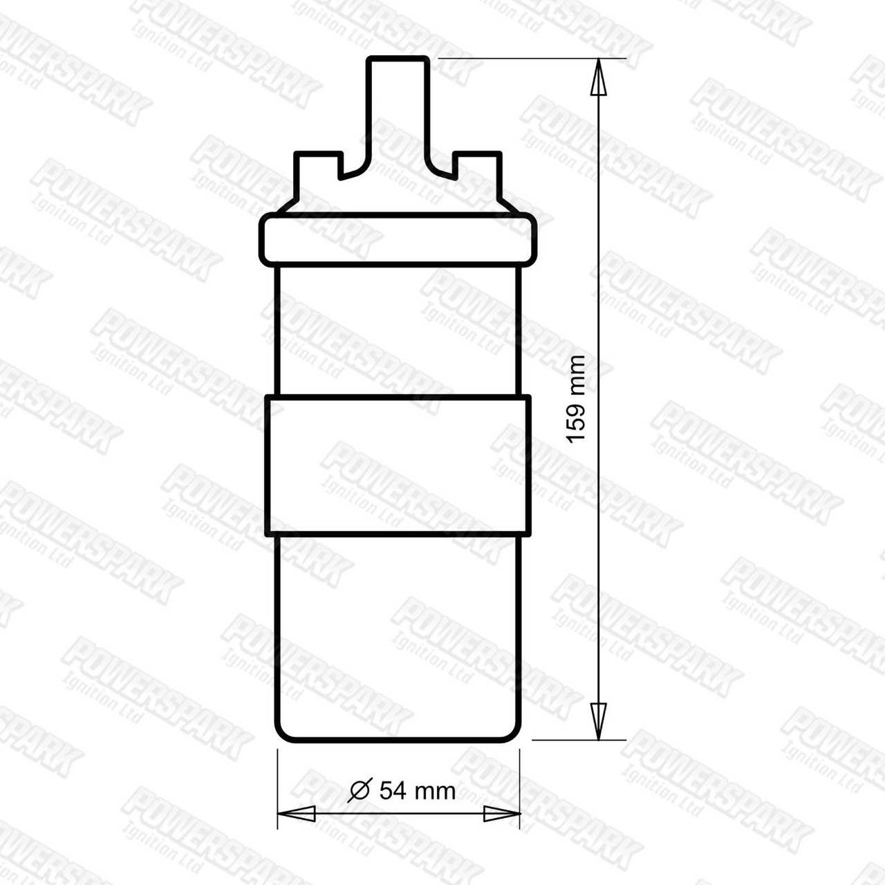 Viper Dry Ignition Coil Sports Ballast replaces DLB110 And DLB102 (VC110 & 08-001)