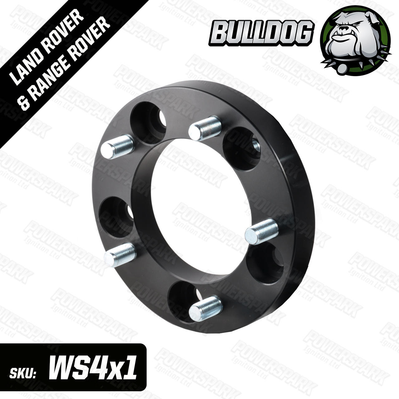 Bulldog 1 Single Bulldog 30mm Wheel Spacer to fit Land Rover Defender, Discovery 1 and RRC Non Hub Centric