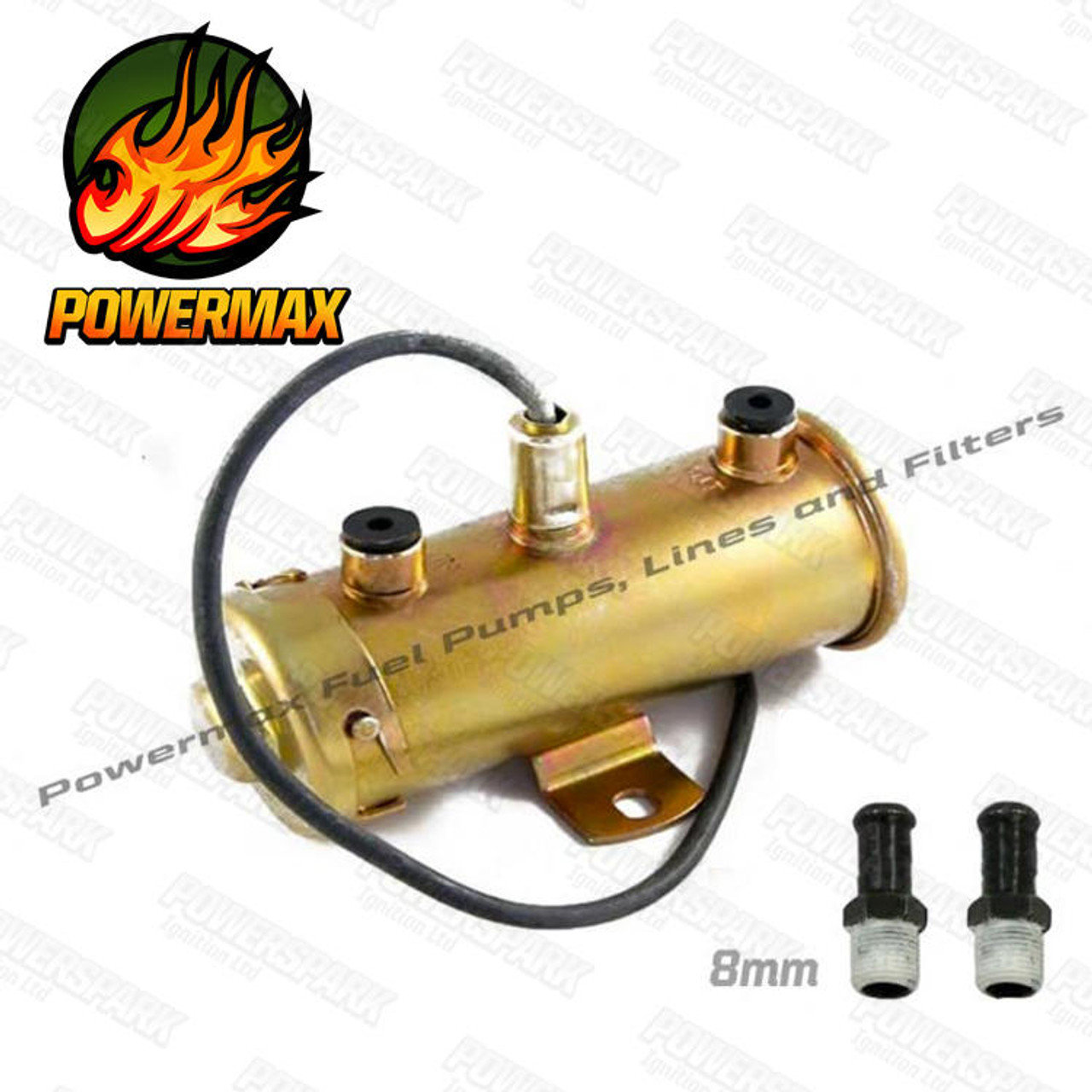 Powermax Powermax FP3 Electronic Fuel Pump replaces PRC3901 Negative Earth