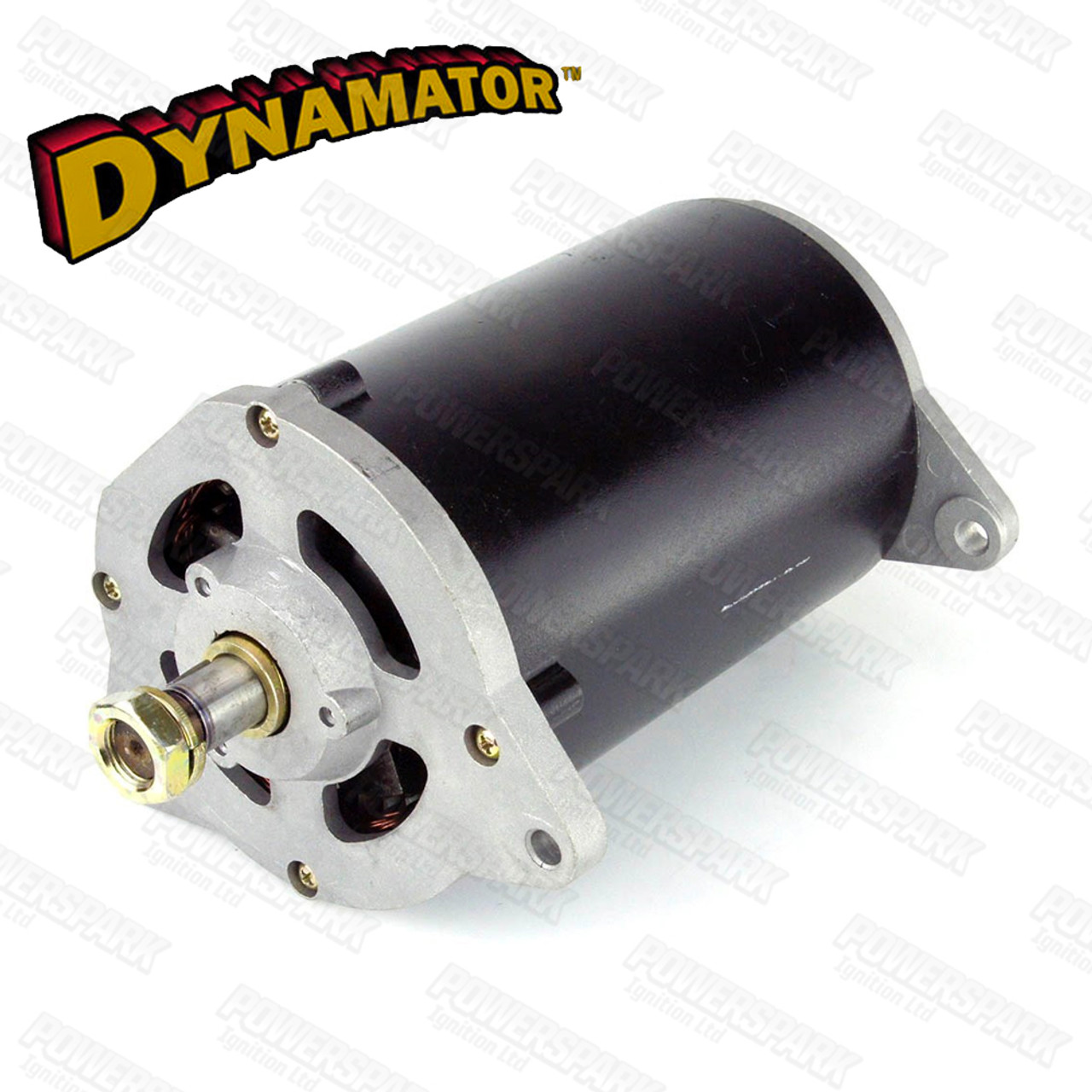 Stealth Dynamator - Dynamo to Alternator Conversion replaces Lucas C45 Dynamo - Neg Earth