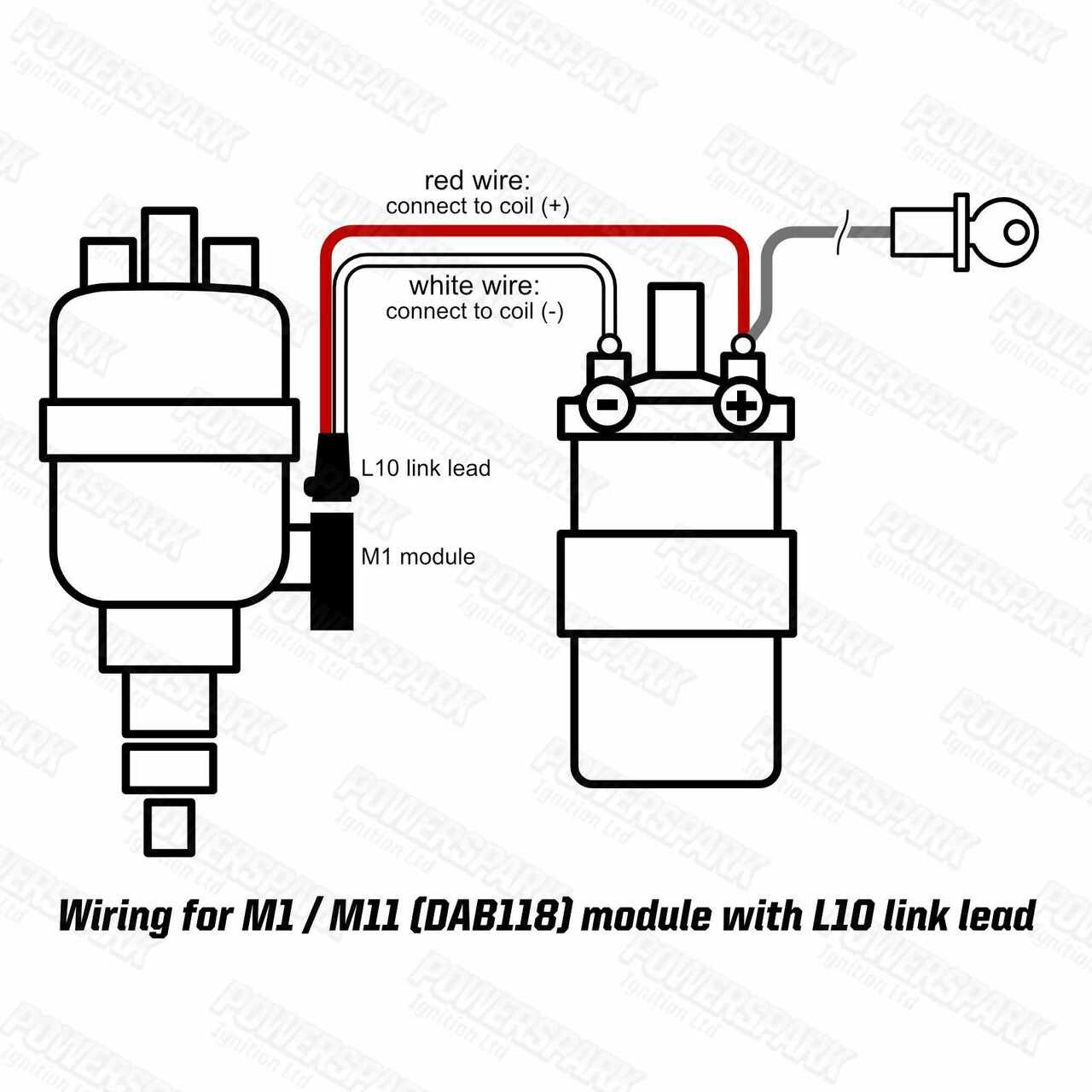 2 to 3 pin Long Linking Lead for V8 Engines fitted with 35D