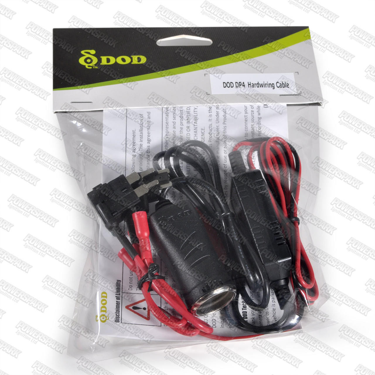 DOD Dashcams DOD Dash Cam Hard Wiring Kit DP4