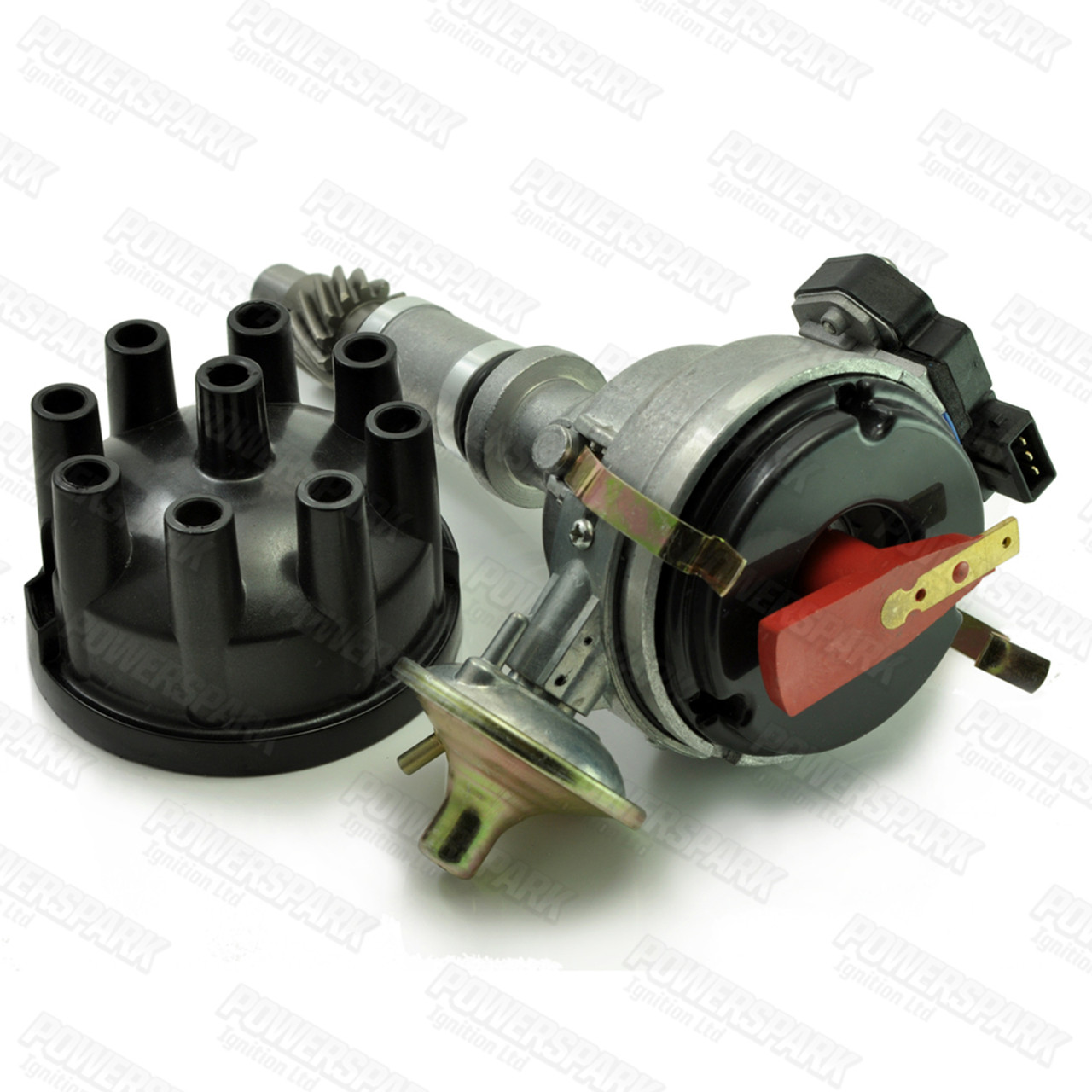 Powerspark Lucas 35D V8 Electronic Distributor for Late Rover V8 with Genuine Lucas Ignition Module
