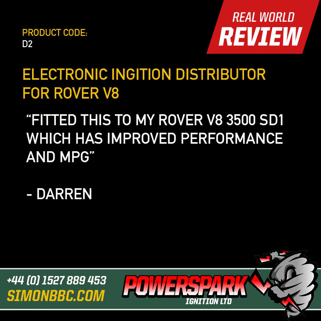 Powerspark Lucas 35D V8 Distributor for Late Rover V8