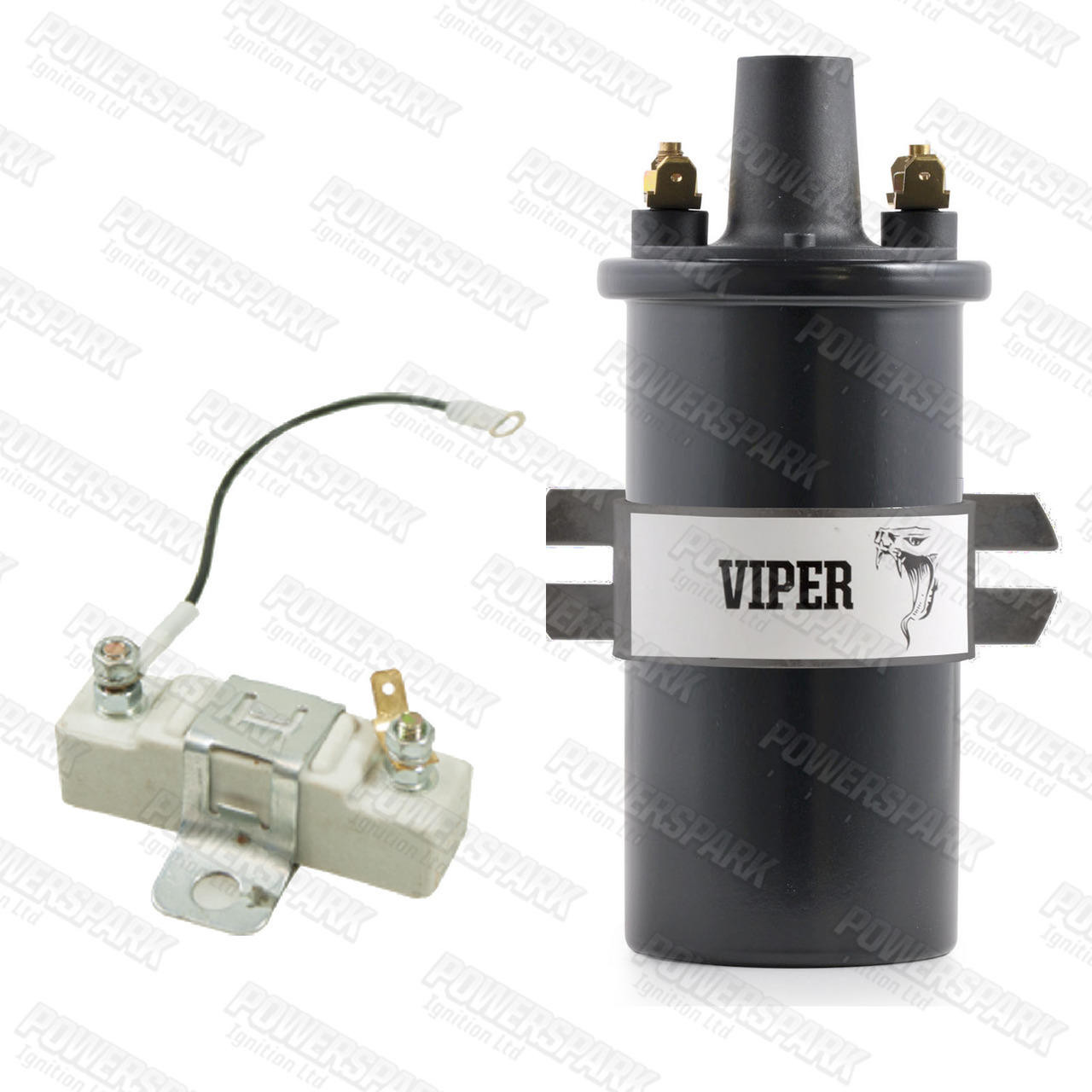 Viper Viper Dry Ignition Coil Ballast replaces Lucas DLB110, DLB102 with Ballast