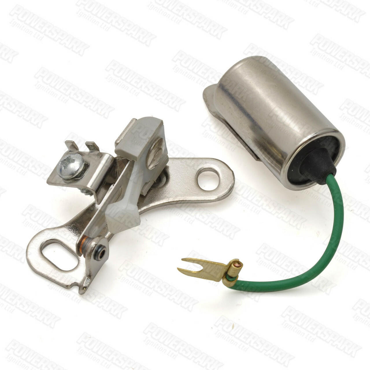 Motorcraft Distributor Right Hand Points and Condenser