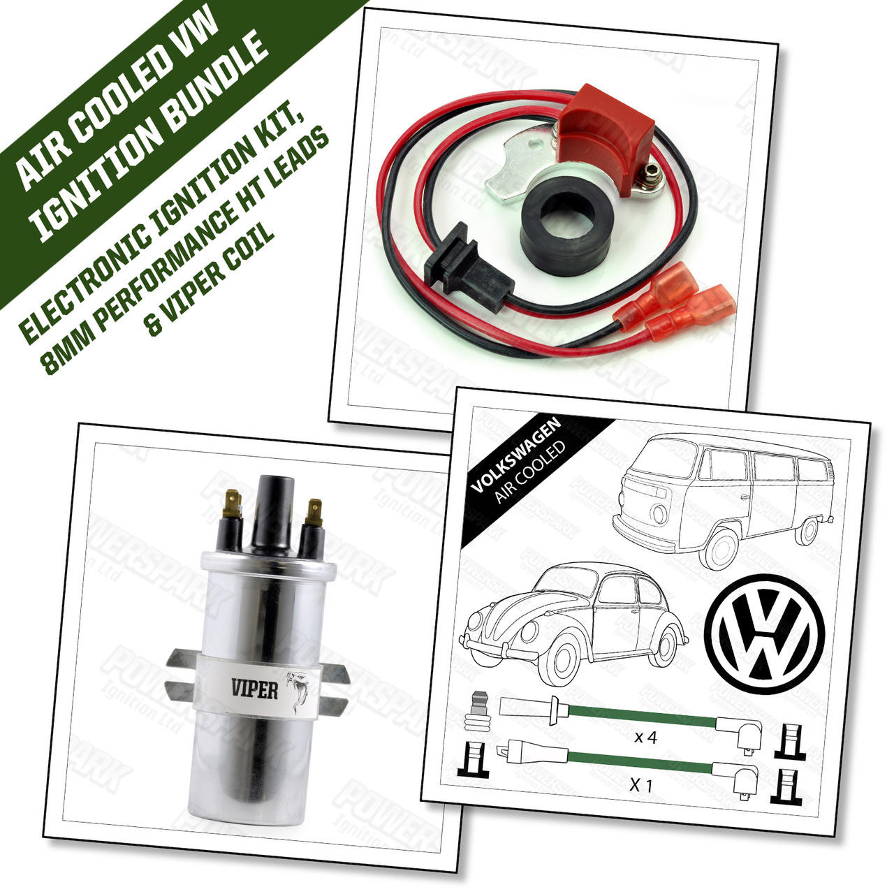Air Cooled Volkswagen Electronic Ignition Bundle