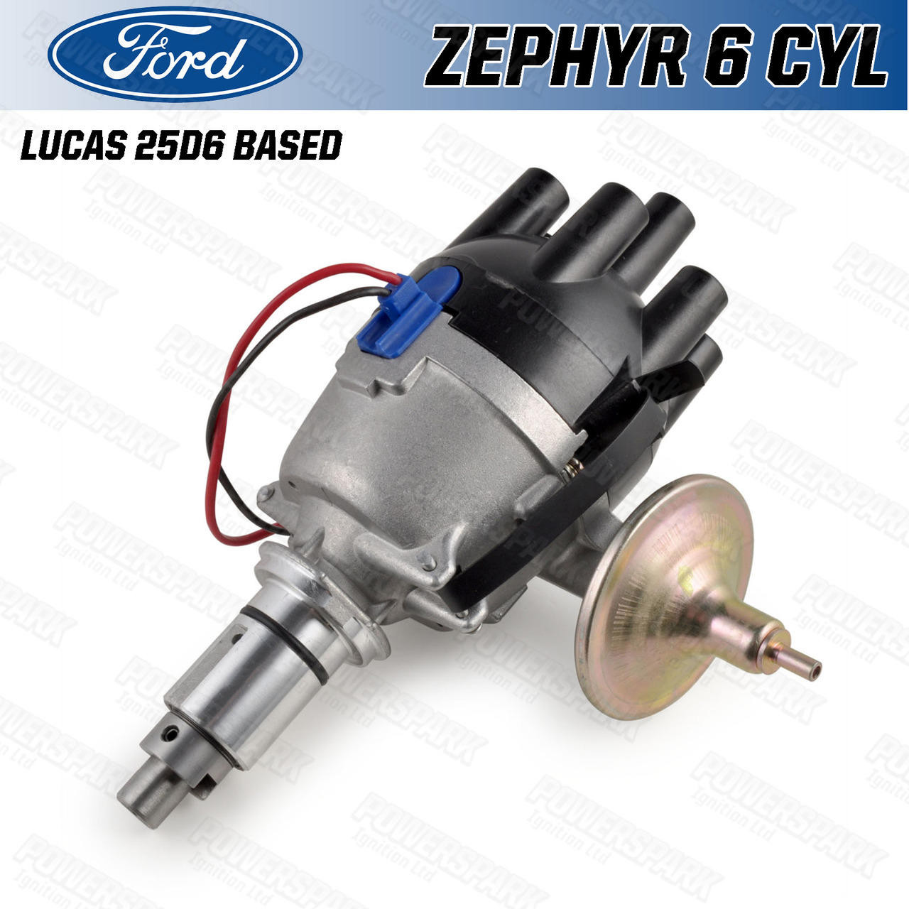 Powerspark Ford Zephyr and Zodiac 6 Cylinder 25D6 Type Distributor